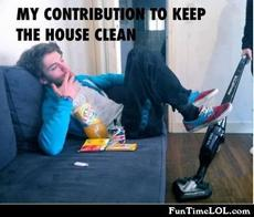 My contribution to keep the house clean