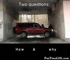 Two questions. How and why?